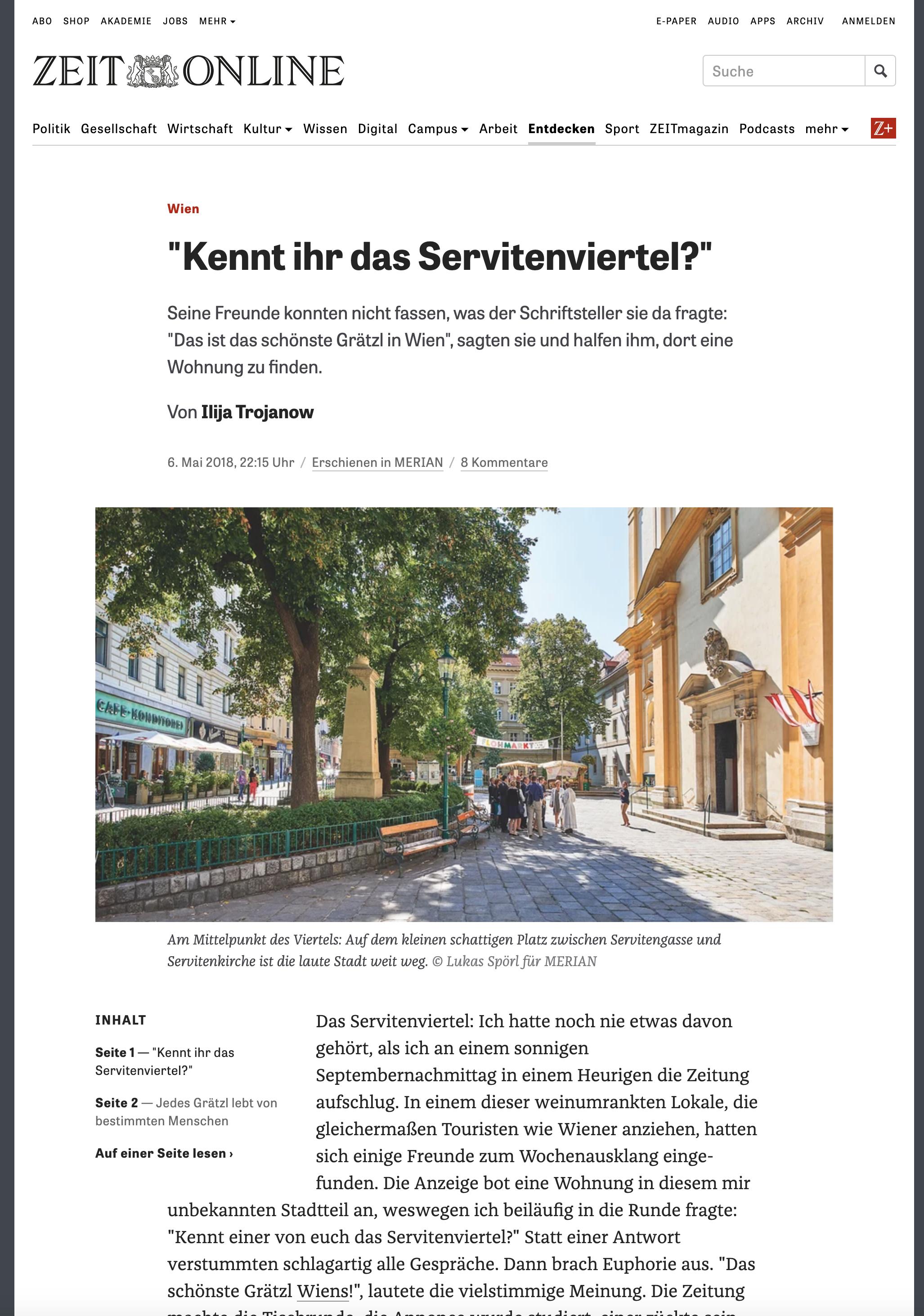 Zeit.de Artikel